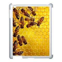 Honey Honeycomb Apple iPad 3/4 Case (White)