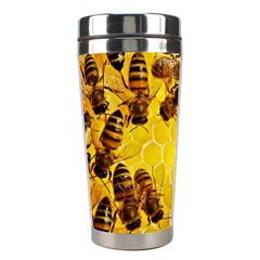 Honey Honeycomb Stainless Steel Travel Tumblers