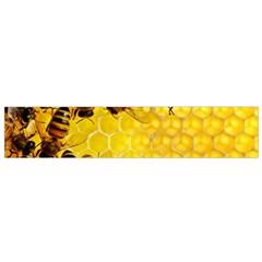 Honey Honeycomb Flano Scarf (Small)