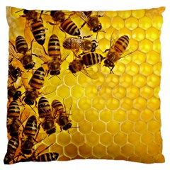 Honey Honeycomb Large Cushion Case (One Side)
