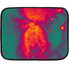 Space Double Sided Fleece Blanket (Mini)
