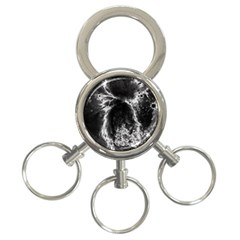 Space 3-Ring Key Chains
