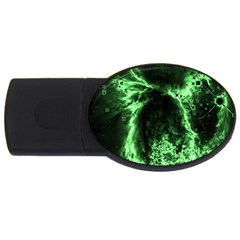 Space USB Flash Drive Oval (2 GB)