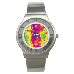 Space Stainless Steel Watch