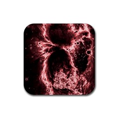 Space Rubber Square Coaster (4 pack)