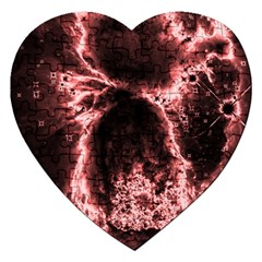 Space Jigsaw Puzzle (Heart)