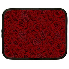 Red Roses Field Netbook Case (xl)
