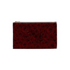 Red Roses Field Cosmetic Bag (small)
