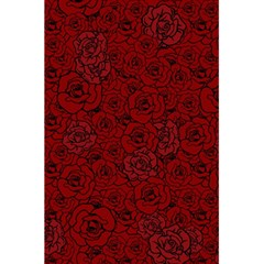 Red Roses Field 5 5  X 8 5  Notebooks