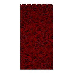 Red Roses Field Shower Curtain 36  X 72  (stall)