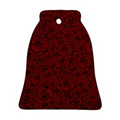 Red Roses Field Ornament (bell)