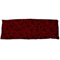 Red Roses Field Body Pillow Case Dakimakura (two Sides)