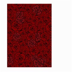 Red Roses Field Large Garden Flag (two Sides)