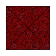 Red Roses Field Acrylic Tangram Puzzle (6  X 6 )
