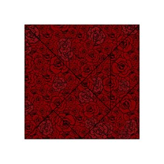 Red Roses Field Acrylic Tangram Puzzle (4  X 4 )