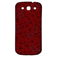 Red Roses Field Samsung Galaxy S3 S Iii Classic Hardshell Back Case