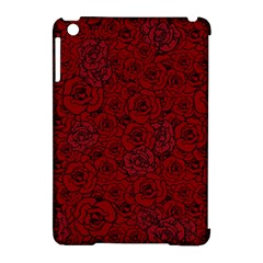Red Roses Field Apple Ipad Mini Hardshell Case (compatible With Smart Cover)