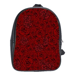 Red Roses Field School Bags (xl)
