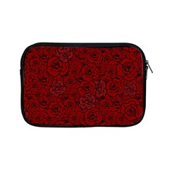 Red Roses Field Apple Ipad Mini Zipper Cases