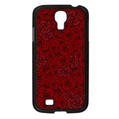 Red Roses Field Samsung Galaxy S4 I9500/ I9505 Case (black)