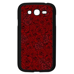 Red Roses Field Samsung Galaxy Grand Duos I9082 Case (black)