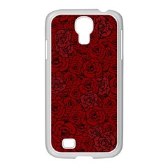 Red Roses Field Samsung Galaxy S4 I9500/ I9505 Case (white)