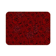 Red Roses Field Double Sided Flano Blanket (mini)