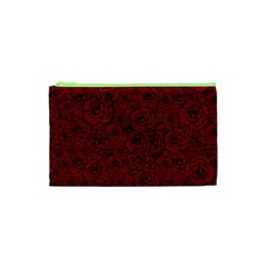 Red Roses Field Cosmetic Bag (xs)