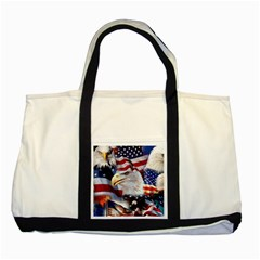 United States Of America Images Independence Day Two Tone Tote Bag