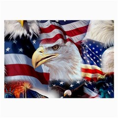 United States Of America Images Independence Day Large Glasses Cloth (2-Side)