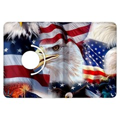 United States Of America Images Independence Day Kindle Fire HDX Flip 360 Case