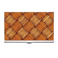 Vector Square Texture Pattern Business Card Holders