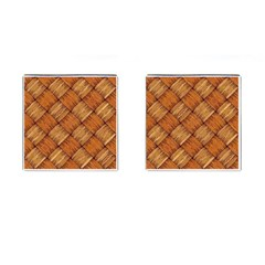 Vector Square Texture Pattern Cufflinks (Square)