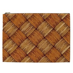 Vector Square Texture Pattern Cosmetic Bag (XXL)