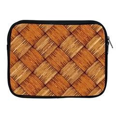 Vector Square Texture Pattern Apple iPad 2/3/4 Zipper Cases