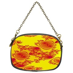 Floral Fractal Pattern Chain Purses (One Side)