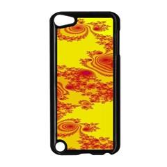 Floral Fractal Pattern Apple iPod Touch 5 Case (Black)