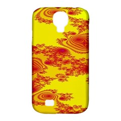 Floral Fractal Pattern Samsung Galaxy S4 Classic Hardshell Case (PC+Silicone)
