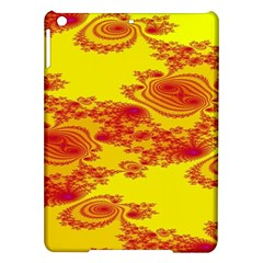 Floral Fractal Pattern iPad Air Hardshell Cases