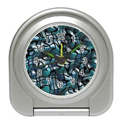 Old Spiderwebs On An Abstract Glass Travel Alarm Clocks