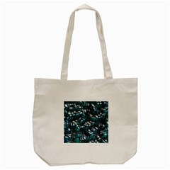 Old Spiderwebs On An Abstract Glass Tote Bag (Cream)
