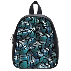 Old Spiderwebs On An Abstract Glass School Bags (Small)