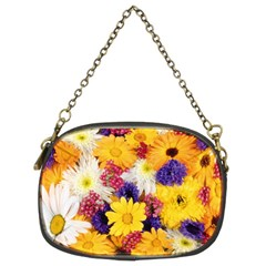 Colorful Flowers Pattern Chain Purses (Two Sides)