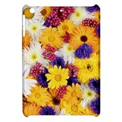 Colorful Flowers Pattern Apple iPad Mini Hardshell Case