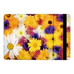 Colorful Flowers Pattern Samsung Galaxy Tab Pro 10.1  Flip Case