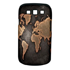Grunge Map Of Earth Samsung Galaxy S III Classic Hardshell Case (PC+Silicone)