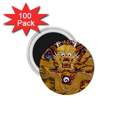 Chinese Dragon Pattern 1.75  Magnets (100 pack)