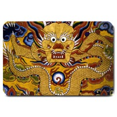 Chinese Dragon Pattern Large Doormat
