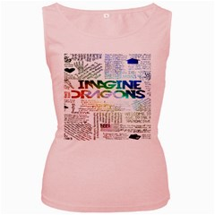 Imagine Dragons Quotes Women s Pink Tank Top