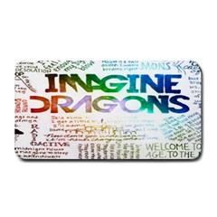 Imagine Dragons Quotes Medium Bar Mats
